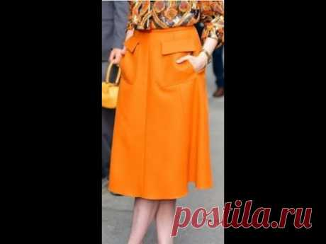 Яркая юбка для яркой осени.Bright skirt for a bright autumn