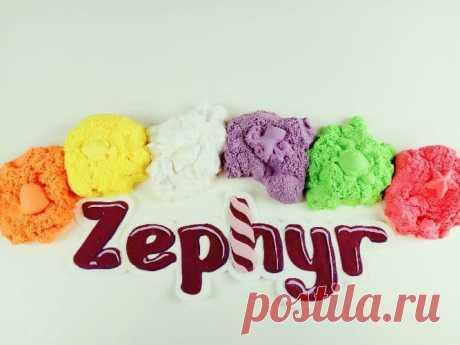 Zephyr для лепки: а из зефира мы еще не лепили!
