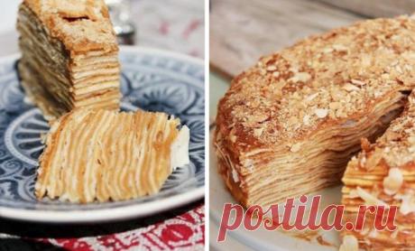 Невероятный тортик «Kрепвиль» может покорить сердце любого члена семьи!