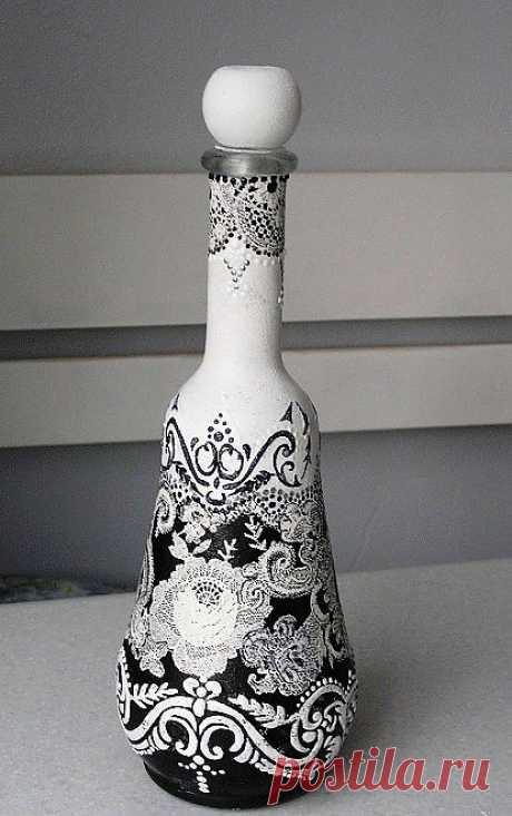 Бутылка-графинчик