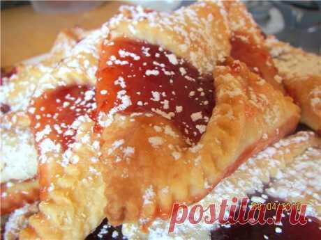 Польское печенье с джемом Kolaczki.