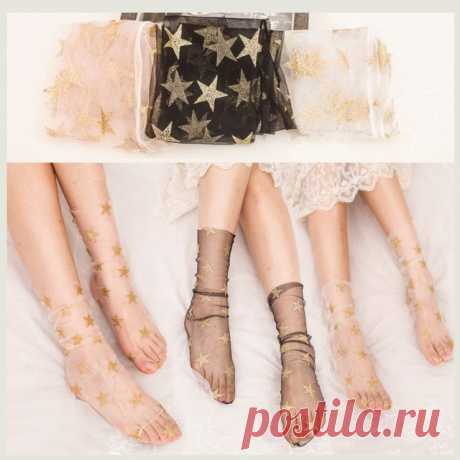 Модные капроновые носочки на Алиэкспресс — Алиэкспресс Обзор