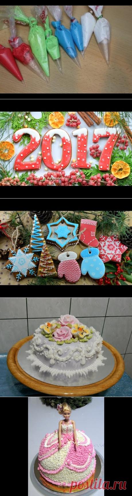 глазурь для росписи пряников, печенья/айсинг/Icing - YouTube