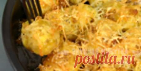 Молодой картофель с ароматными сухариками! Без сухариков так вкусно не получится!