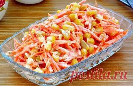 «Морковь по-французски» - рецепт салата, который удивляет своим вкусом и простотой Очень оригинальный салат, легкий с кукурузой, морковью и луком – настоящее буйство витаминов. Для приготовления вам потребуются такие ингредиенты: морковь, 2 крупные; лук, 1 шт; чеснок, 2зубчика; вода, 120 мл; уксус яблочный, треть ст.л; сахар, 1.5 ч.л; соль,1 ч.л.; кукуруза консервированная, половина банки; майонез. Процесс приготовления По вкусу вы еще можете добавить в салат немного […]