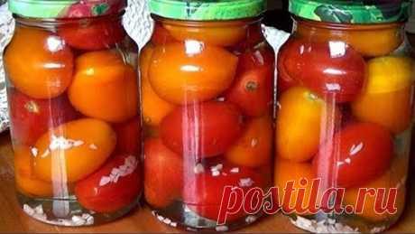 Мы вмиг съели эти помидоры и выпили рассол до капельки Очень вкусные помидоры на зиму