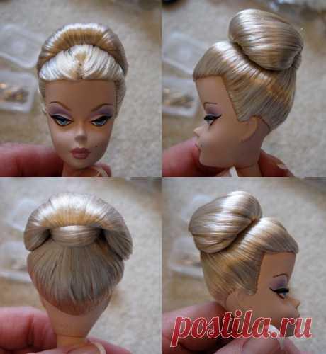 An Updo Hair Tutorial | Inside the Fashion Doll Studio
