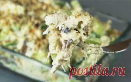 La ensalada cojonuda «En vez de olive». Rápido y muy sabroso