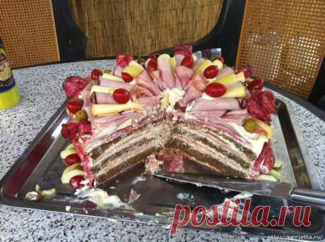 Закусочный торт. Ноу-хау!