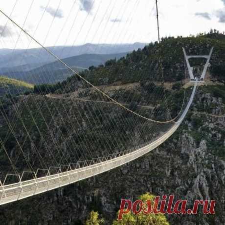 Portugal inaugura a maior ponte suspensa para pedestres do mundo; veja