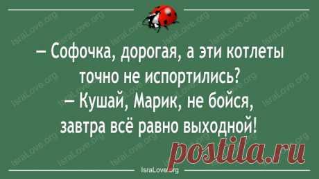 Свежая порция одесских анекдотов