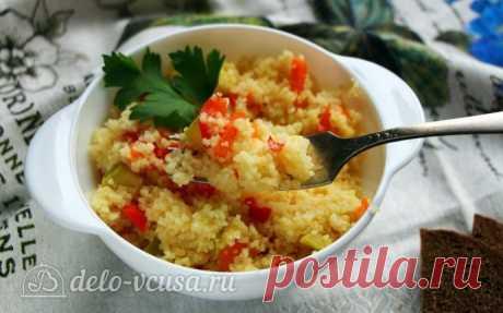 Кус-кус с овощами, пошаговый рецепт с фото