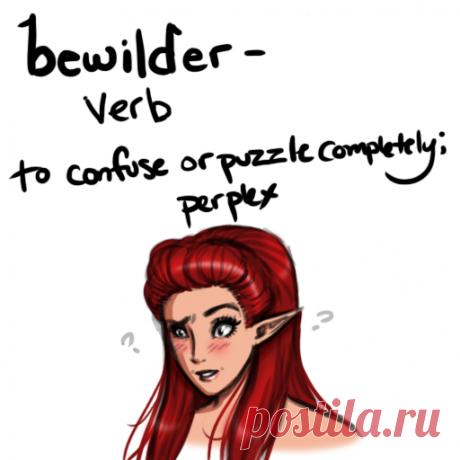Estudiamos 5 palabras inglesas: bewilder, outburst, subsequent, grouchy, wary | English Bird | Yandeks Dzen