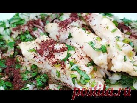 Закуска просто огонь! Рыба под маринадом по Грузински - YouTube