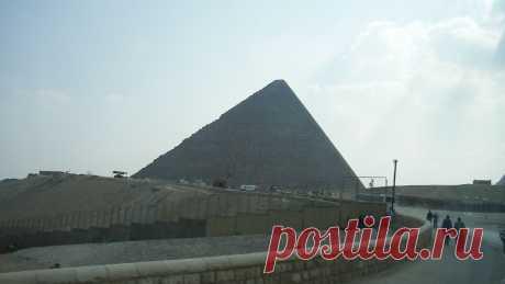 Дорога к пирамидам Гизы