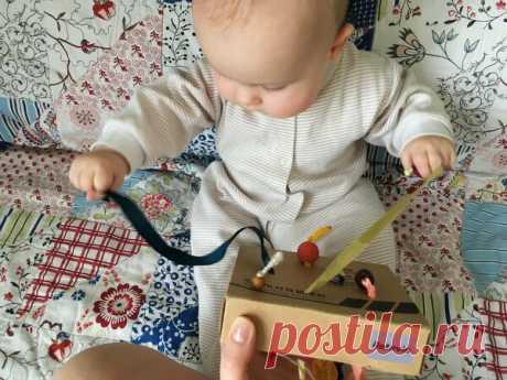 Игрушка-хвостики для детей от полугода своими руками   Мама без выходных   Яндекс Дзен