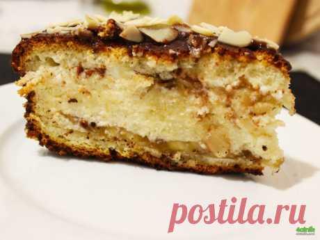 Вкуснейший банановый торт - один из самых лучших банановых тортов, если не самый лучший!.