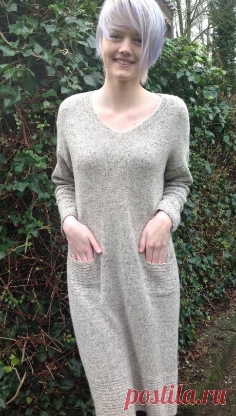 Вязаное платье Hindeloopen | ДОМОСЕДКА