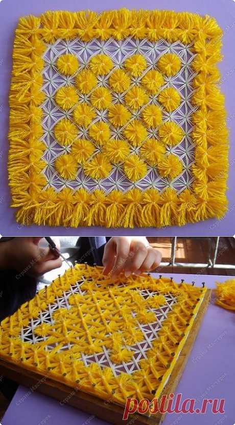 Плетеная салфетка / Идеи для дома / Амалатанагала