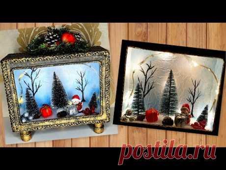 DIY / Beautiful New Years Decor Idea / Home crafts