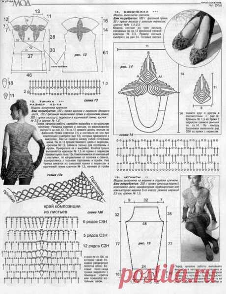 Василюшкино рукоделие.Вязание крючком,спицами.