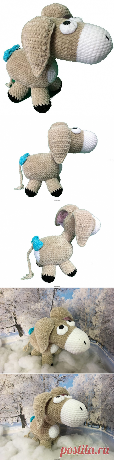 Ослик ИА игрушка, плюшевая из мультика Винни-Пух, 28см, Купить!Мастерская рукоделия Анны Ганоцкой