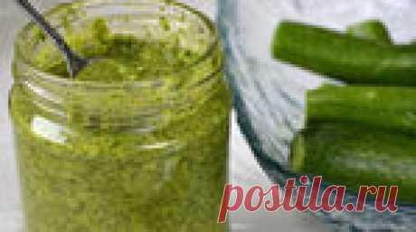 Соус с зеленью и чесноком