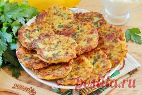 Пикантные тыквенные оладьи с сыром - пошаговый рецепт с фото на Повар.ру