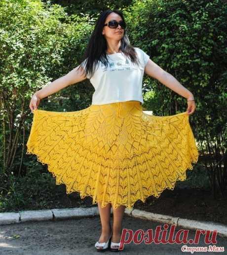 Шикарная юбка!  Связана спицами 3,5-4,5 мм, по схеме салфетки, пряжа Diva Baby, расход 350 г