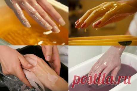 Парафиновые ванночки для рук в домашних условиях — Полезные советы