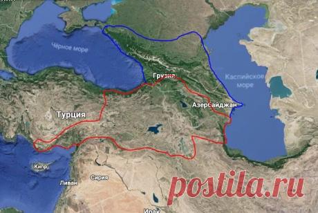 Немного о территории Армянского нагорья | Популярная наука | Яндекс Дзен