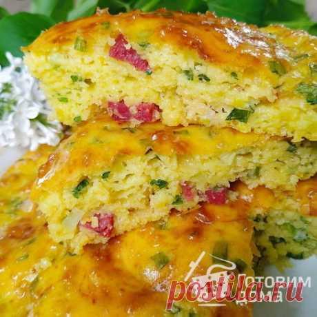 Пирог на кефире «Выручайка» - пошаговый рецепт с фото на Готовим дома