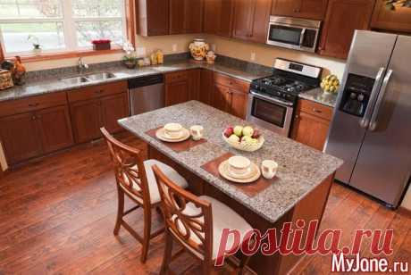 Напольное покрытие для кухни: какое лучше? - напольное покрытие для кухни, линолеум, ламинат, керамическая плитка, керамогранит