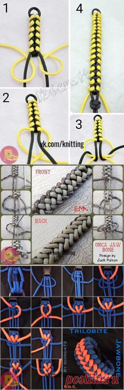 Плетение шнура: мастер-класс — Сделай сам, идеи для творчества - DIY Ideas