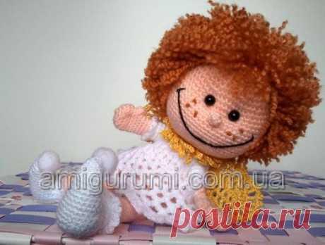 El ángel-inspirador — los juguetes Tejidos. Amigurumi de todos los países, se unan