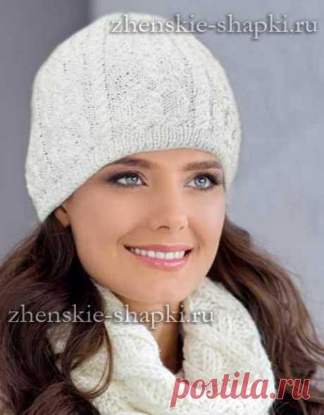 вязаные шапки шляпы галина форостовская простые схемы экономим