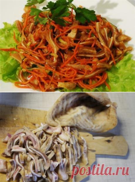 Салат из свиных ушей - Простые рецепты Овкусе.ру