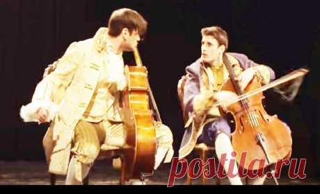 Дуэт молодых виолончелистов 2CELLOS. Они красивы и талантливы   Сказочник   Яндекс Дзен