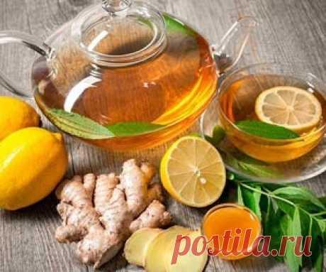 15 лечебных напитков от простуды и кашля