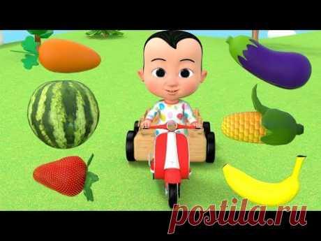 تعليم الاطفال - الفواكه والخضروات - العاب أطفال