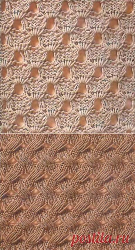 Два узора со снятыми петлями