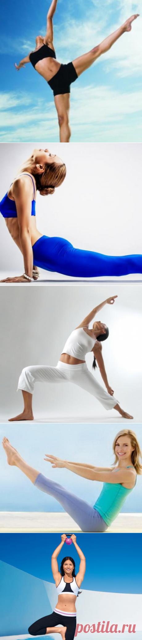 12 способов сделать свое тело сильным и красивым - МирТесен