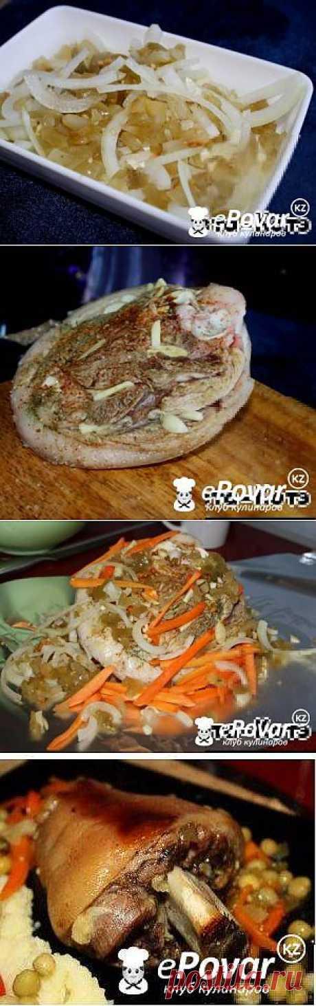 Рулька в помидорах — Рецепт приготовления с фото — Горячие блюда, Блюда из мяса