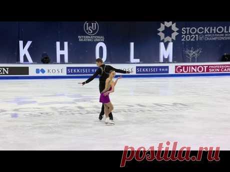 Александра Бойкова - Дмитрий Козловский. Произвольная программа.  Чемпионат мира 2021