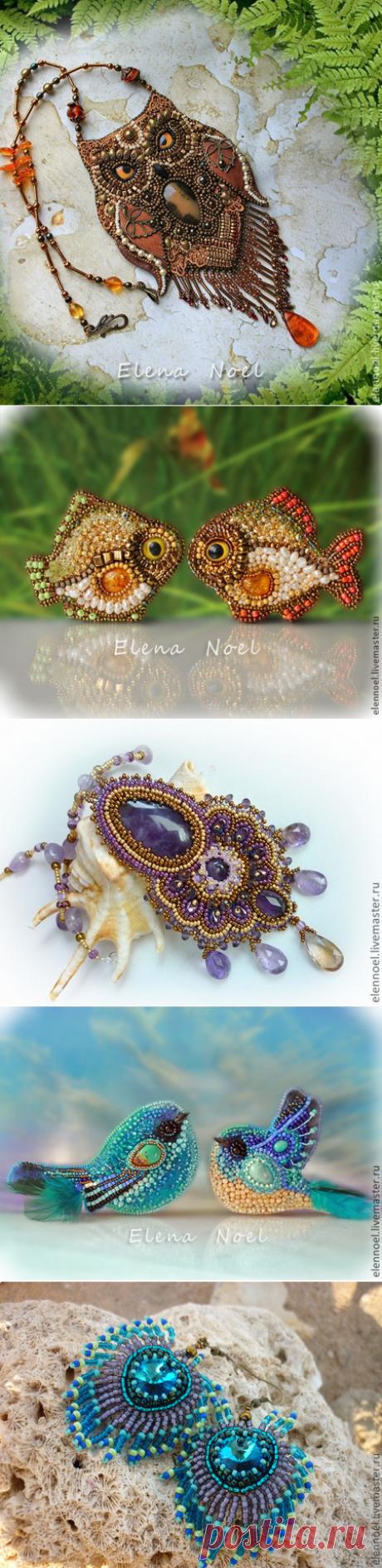 Бисерные украшения талантливой мастерицы — Делаем руками