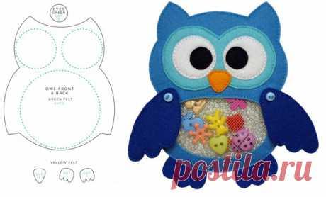 Выкройки игрушек из фетра для начинающих рукодельниц - идеи и особенности работы с фетром