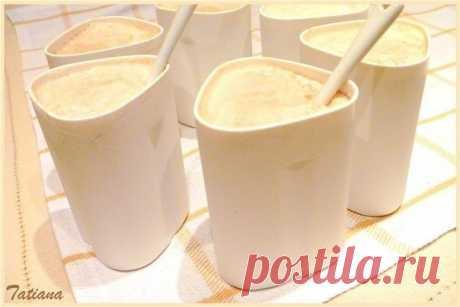 Caramel yogurt in the crock-pot.