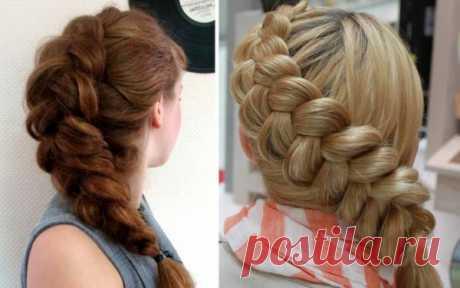 Прическа французская коса для средних и длинных волос: инструкция как сделать, видео и фото
