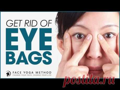 How To Get Rid Of Eye Bags with The Face Yoga Method http:\/\/faceyogamethod.com\/