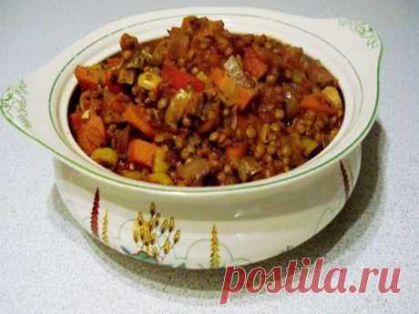Чечевица с овощами - Пошаговый рецепт с фото своими руками Чечевица с овощами - Простой пошаговый рецепт приготовления в домашних условиях с фото. Чечевица с овощами - Состав, калорийность и ингредиенти вкусного рецепта.